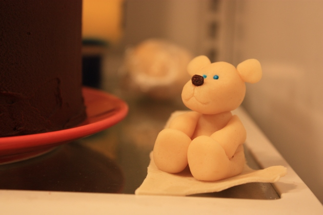 Marzipan Teddy Bear