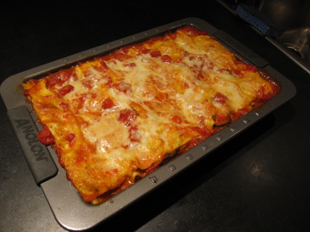 Pan of Lasagne